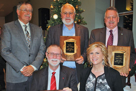 Four inducted into Hardin County Ag Hall of Fame