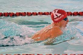 Wildcats, Van Wert split swimming dual