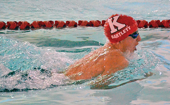 Wildcats, Van Wert split swimming dual