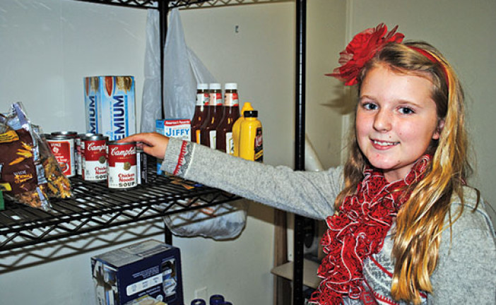 Kenton Elementary student leads food drive for local charity