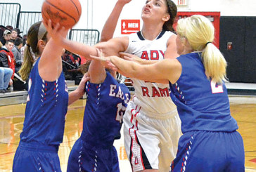 Lady Rams off target in 63-36 loss to L-B