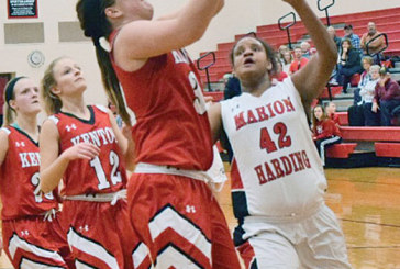 KHS girls too much for Marion Harding