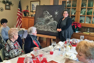 Art presentation featured at Kappa Chapter meeting