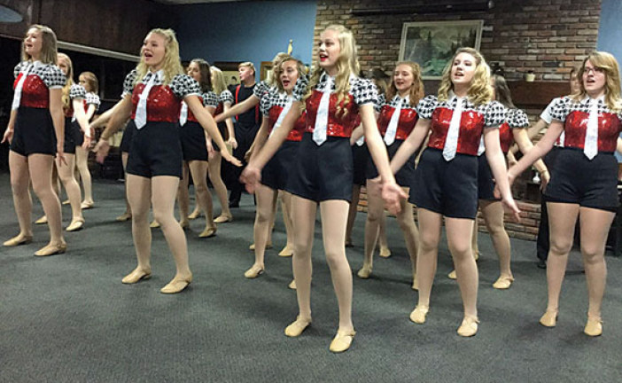 Retired teachers hear Company R perform