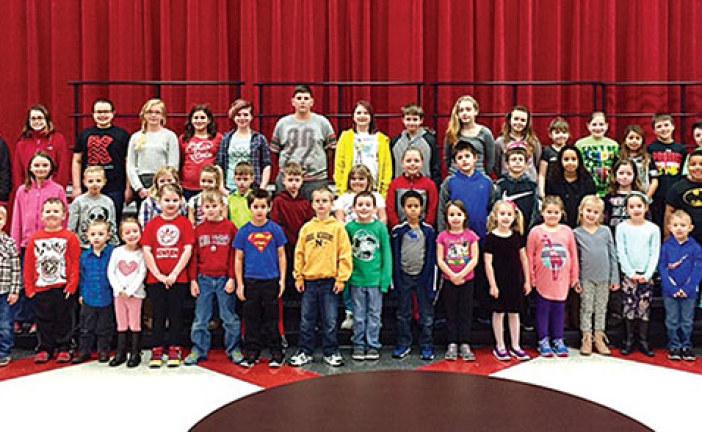 KES students receive character award