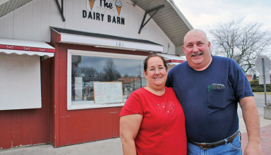 New owners of Dairy Barn