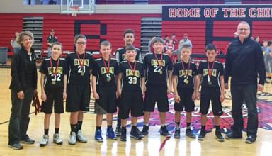 Sixth grade champs
