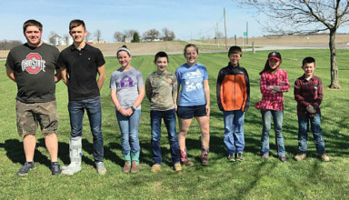 Ada 4-H club elects officers