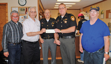 Donation to sheriff's office