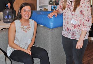 ONU students design chair for autistic children