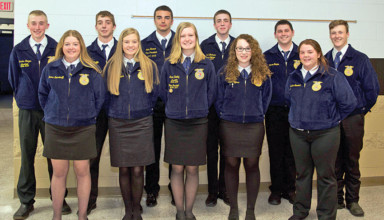 BL FFA officer team