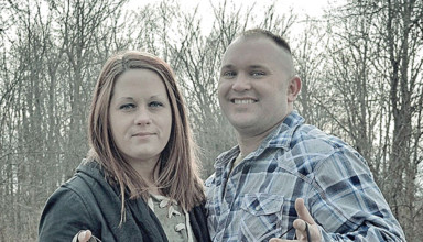 Kristiana Creamer and Jerrod Bowman