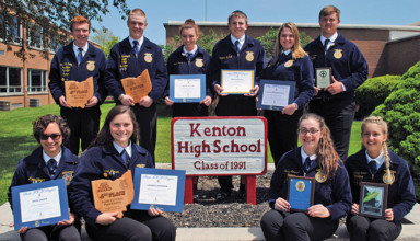 Kenton FFA winners