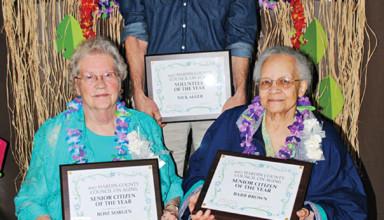Seniors, volunteer honored