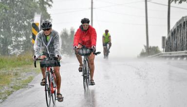 A wet ride