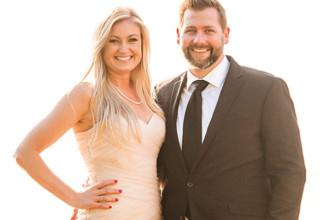 Dr. Lauren McKinley and Mark Thompson Jr.