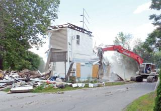 Kenton house demolished