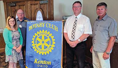 Kenton Rotary officers