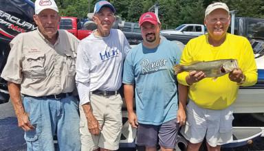 Top catch at Alum Creek