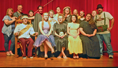 "The cast of the ""Brothers Grimm Spectaculathon"""