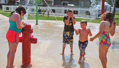 Last splash of summer