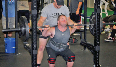 Powerlifting for a purpose