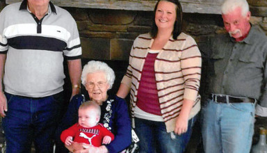 Five generations featured
