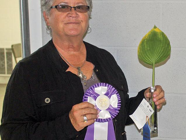 Flower show winner