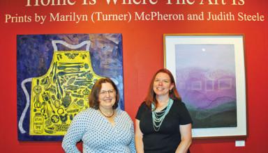 Marilyn McPheron and Judith Steele
