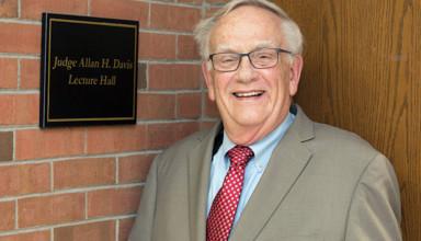 Retired Judge Allan Davis