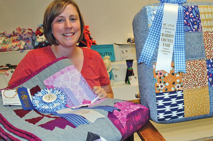 Sewing winner