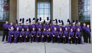 Ada band and color guard