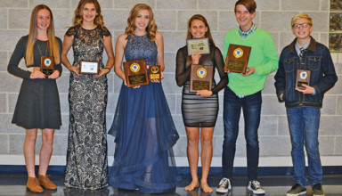 R'dale x-country awards