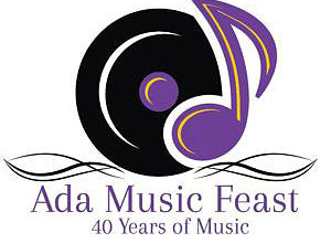 Ada Music Feast logo