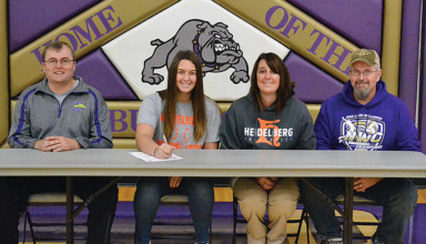 Signing with the 'Berg