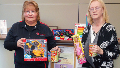 Annual toy, food drive begins at HSLC featured