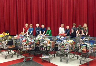 KES food donations