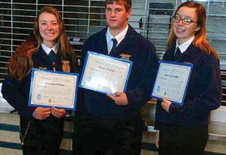 BL FFA degree recipients