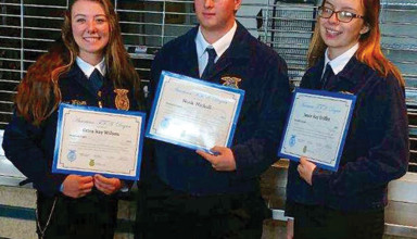 BL FFA degree recipients