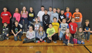 HN Students of the Month, grades 3-6