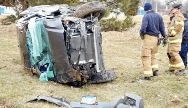 Crash on U.S. 68