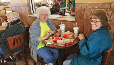 Trip to McDonald's