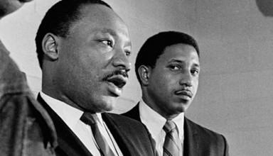 Dr. Bernard LaFayette with MLK