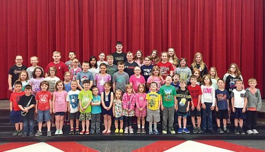 Kenton Elementary School students recognized for leadership attributes
