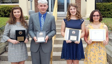 Top teenagers honored