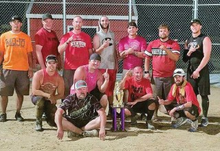 Softball tourney winners