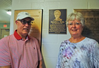Swimming Lady honored