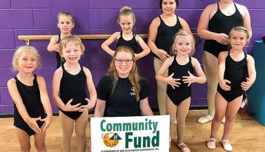 Support for ballet camp