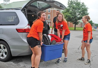 Help moving in at ONU