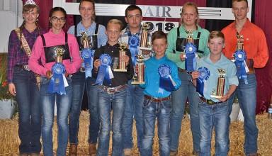 Showmanship winners